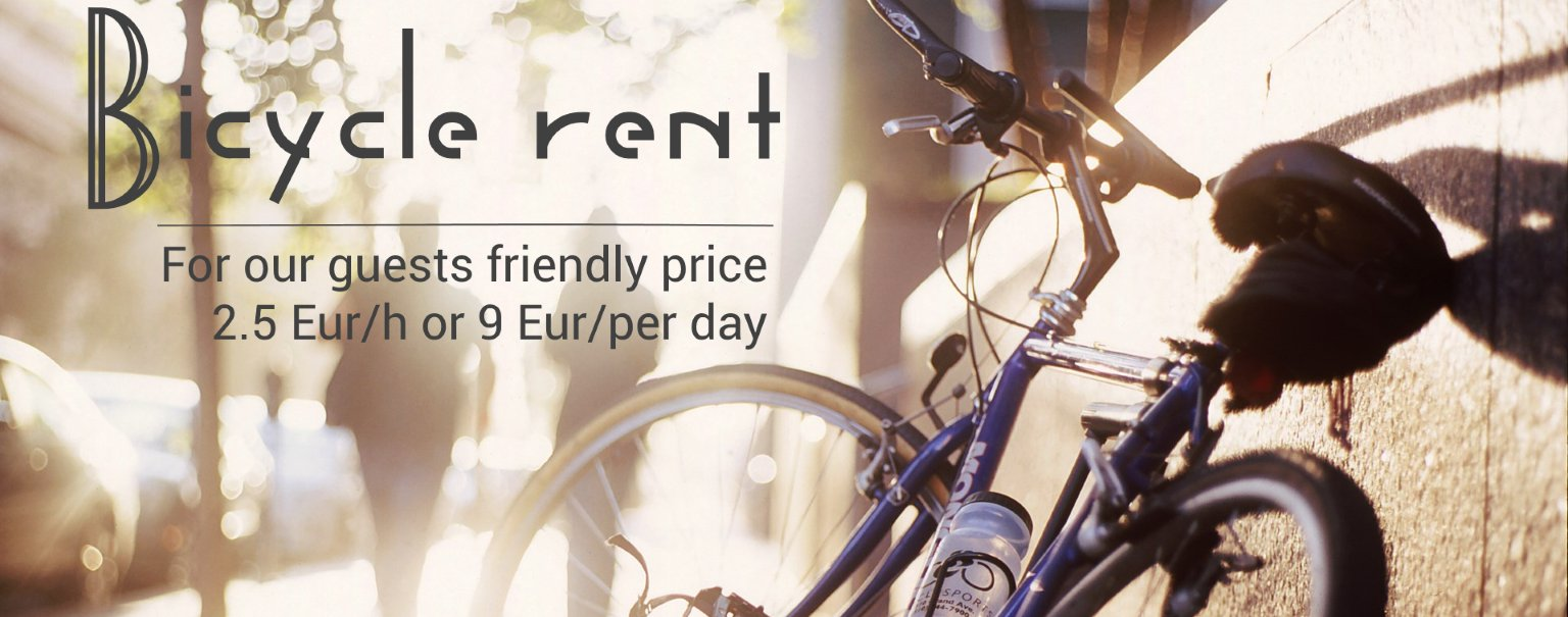 Bicycle rent between 1st of May and 1st of October